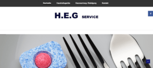 H.E.G – Service – Webseite