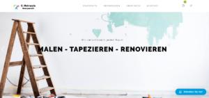 Metruccio Maler – Webseite