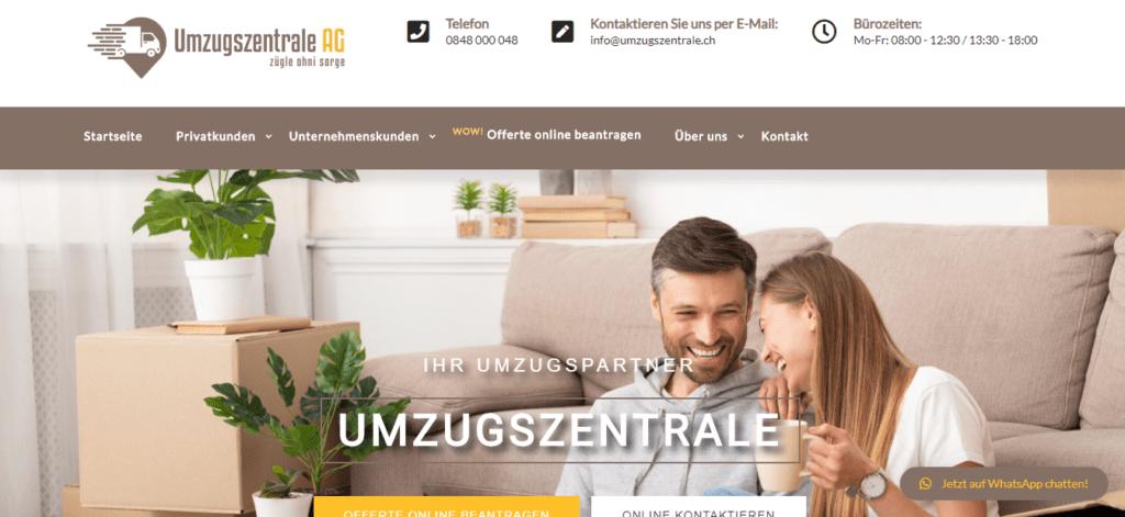 Referenzen-Digital-Marketing-Switzerland-Umzugszentrale